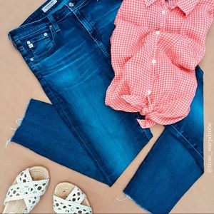 🗺 AG Jeans •• Ankle Legging Capri (31R)